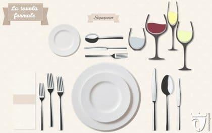 Come apparecchiare tavola: Mise en place elegante