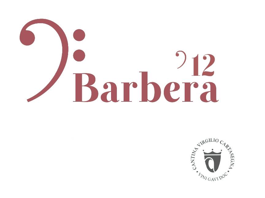 Etichetta bottiglia - Vino sfuso rosso Barbera