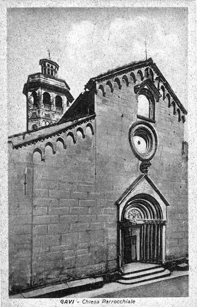 Gavi: Chiesa di San Giacomo