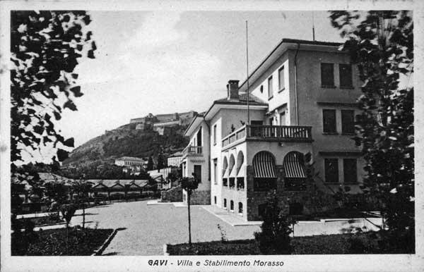 Gavi: Villa e stabilimento Morasso