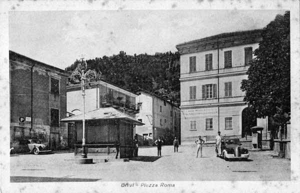 Gavi: piazza Roma