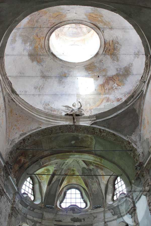 San remigio: la cupola sopra l'altare maggiore