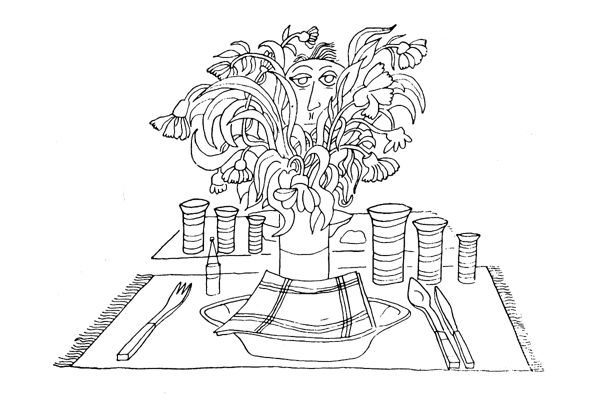 Come apparecchiare tavola: il centrotavola