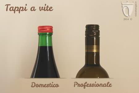 Tappi per il vino: tappi a vite