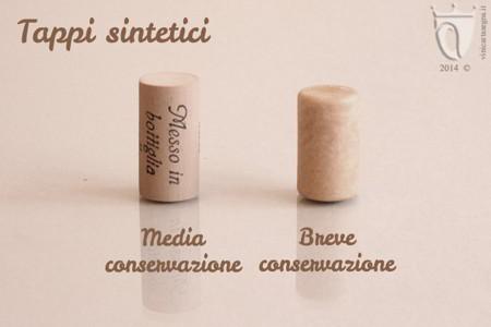 Tappi per vino: tappi sintetici