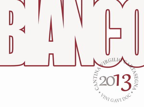 Etichette per vino da stampare 2013: vino rosso - layout moderno