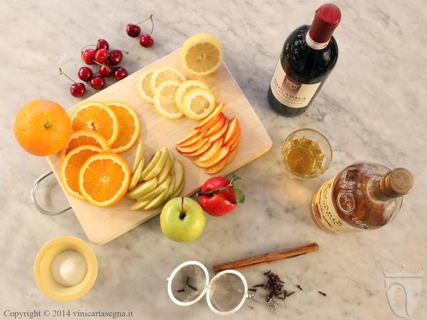 Ricetta della sangria: gli ingredienti