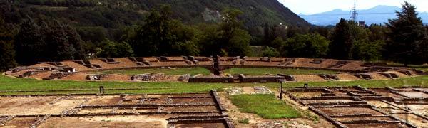 Anfiteatro romano a Libarna - Area archeologica