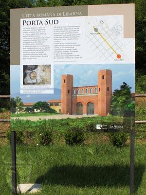 Scavi archeologici di Libarna: la Porta Sud