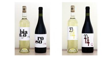 Etichette da stampare per bottiglie di vino