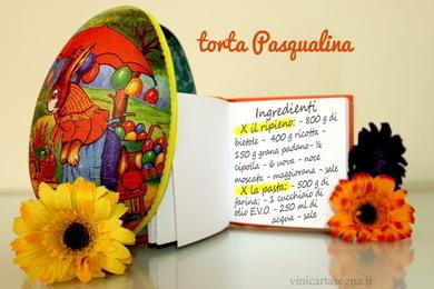 Ingredienti torta Pasqualina