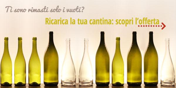 Offerta vino: sconti sino al 20%