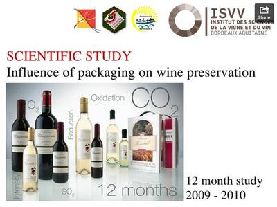The influence of packaging on wine conservation