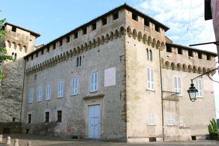 Il castello Spinola a Lerma