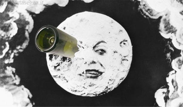 Luna - imbottigliamento - Le Voyage dans la Lune - Georges Méliès