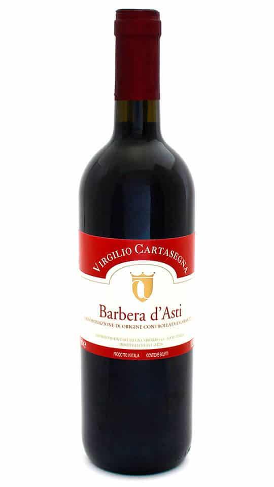Barbera d'Asti DOCG Cantina Cartasegna bottiglia 0,75l